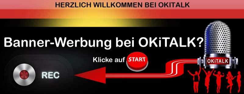 Banner Werbung auf OKiTALK