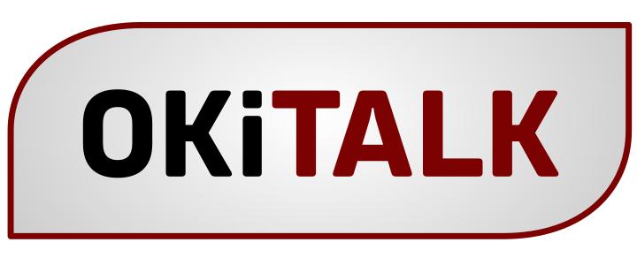 OKiTALK Logo ohne Mikrofon