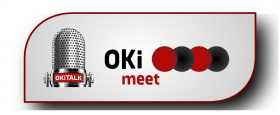 Logo OKiMEET plastisch